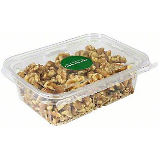 Prepack English Light Walnuts Halves & Pieces In Tub, 10.5 oz