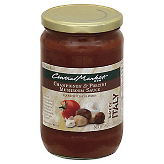 Central Market Champignon and Porcini Mushroom Sauce, 24 oz