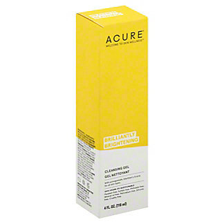 Acure Facial Cleansing Gel,4 OZ