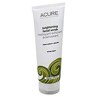 Acure Brightening Facial Scrub,4 OZ