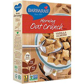 Barbaras Vanilla Almond Morning Oat Crunch Cereal,14 OZ