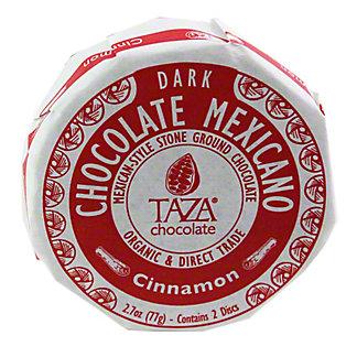 TAZA Taza Organic Chocolate Disc Cinnamon,2.7OZ