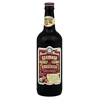 Samuel Smith Organic Raspberry Fruit Ale Bottle, 18.7 oz