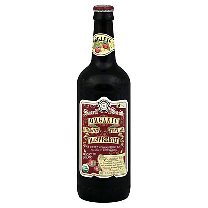 Samuel Smith Organic Raspberry Fruit Ale Bottle, 18.7 oz