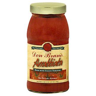 Don Bruno Arrabbiata Sauce,25 OZ