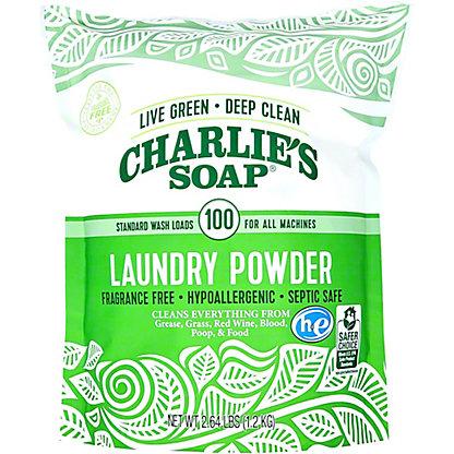 Charlies Soap Powder Detergent, 2.64 lb