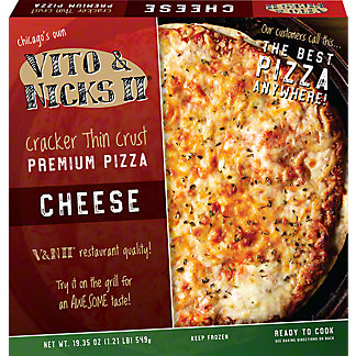 Vito and Nicks II Cheese Pizza,19.51 oz