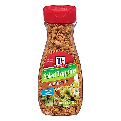 McCormick Southwest Salad Toppins, 3.75 oz