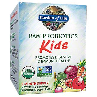 Garden of Life Organic Raw Probiotics Kids, 3.4 OZ