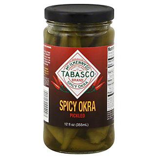 Tabasco Pickled Spicy Okra,12 OZ