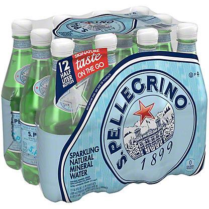 San Pellegrino Natural Sparkling Water 12 pk, 16.9 oz