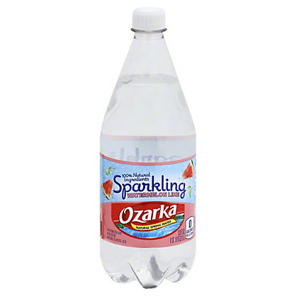 Ozarka Sparkling Watermelon Lime Natural Spring Water, 1 L