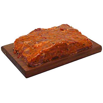 Fresh Orange Honey Habanero Marinated Beef Sirloin