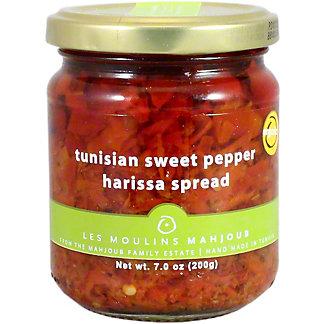 Les Moulins Sweet Pepper Harissa Spread, 7 OZ