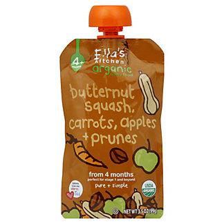 Ella's Kitchen Organic Stage 1 Butternut Squash Carrots Apples & Prunes, 3.5 OZ