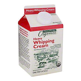 Central Market Organics Heavy Whipping Cream, 16 oz
