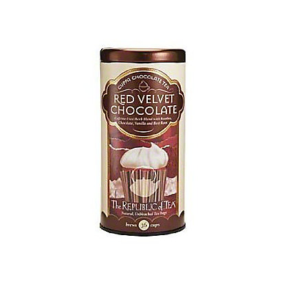 The Republic of Tea Red Velvet Cuppa Chocolate Tea Bags, 36 ct