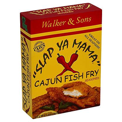 Slap Ya Mama Cajun Fish Fry Seasoning,12 OZ