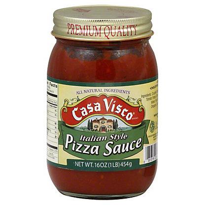 Casa Visco Italian Style Pizza Sauce, 16 oz