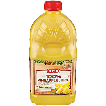 H-E-B It's Juice Pineapple Juice,48 OZ