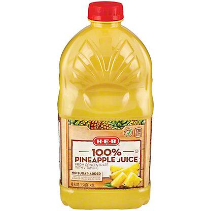 H-E-B It's Juice Pineapple Juice,48 OZ