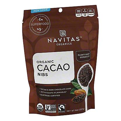 Navitas Naturals Organic Cacao Nibs, 8 OZ