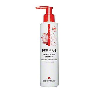 Derma E Anti-Wrinkle Vitamin A and Glycolic Cleanser, 6 oz