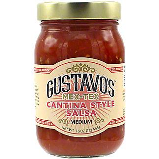 Gustavo's Cantina Style Medium Salsa, 15.5 OZ