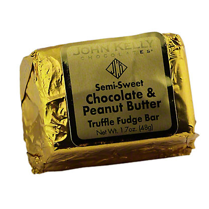 JOHN KELLY CHOCOLATES John Kelly Truffle Fudge Peanut Butter Bar,1.7OZ