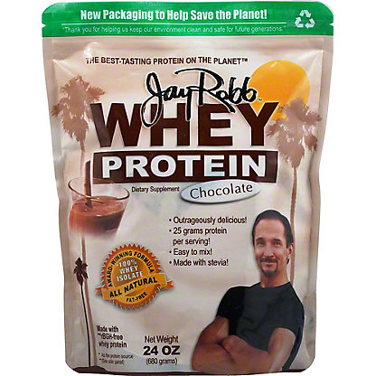 Jay Robb Chocolate Whey Protein,24 OZ