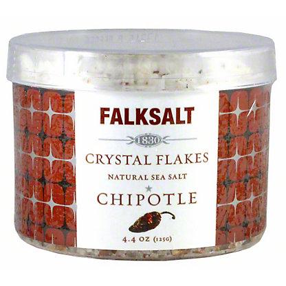 Falksalt Crystal Flakes Chipotle Natural Sea Salt, 4.4 oz