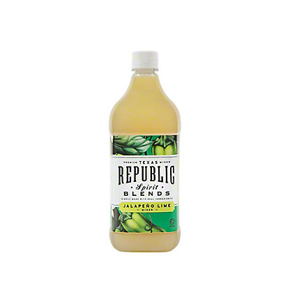 Republic Jalapeno Lime Spirit Blends Mix, 32 oz