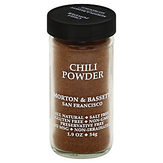 Morton & Bassett Chili Powder,1.9 OZ