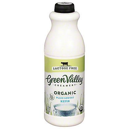 Green Valley Organics Lactose Free Plain Kefir,32 OZ