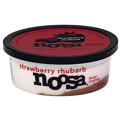 Noosa Strawberry Rhubarb Yoghurt,8 oz