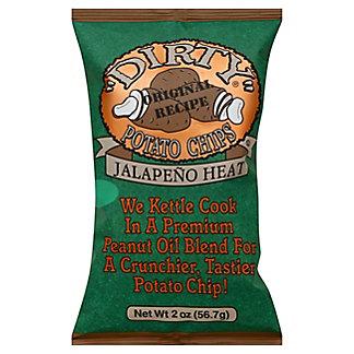 Dirty Original Recipe Jalapeño Heat Potato Chips,2 oz