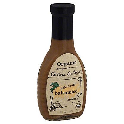 Cucina Antica Organic Balsamic Dressing,8 OZ