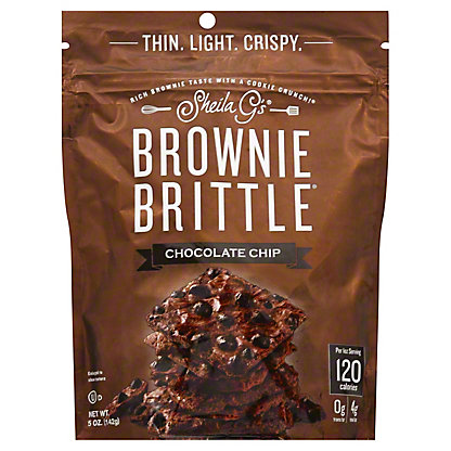 Sheila G's Chocolate Chip Brownie Brittle, 5 oz