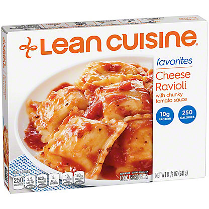 Lean Cuisine Cheese Ravioli with Chunky Tomato Sauce, 8.50 oz