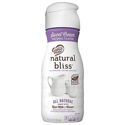Nestle Coffee-Mate Natural Bliss Sweet Cream Coffee Creamer, 16 oz