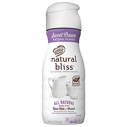 Nestle Coffee-Mate Natural Bliss Sweet Cream Coffee Creamer, 16 oz