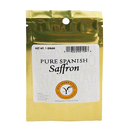 SOUTHERN STYLE SPICES Pure Spanish Saffron,1 GRAM