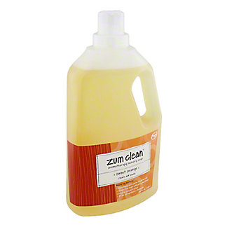 Indigo Wild Sweet Orange Zum Clean Laundry Soap, 64 OZ