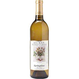 Becker Vineyards Springtime White Wine, 750 mL