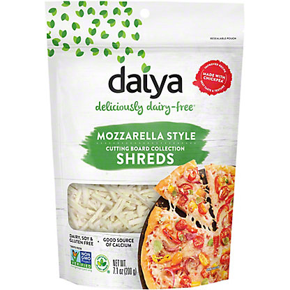 Daiya Mozzarella Style Shreds Vegan Cheese,8 oz