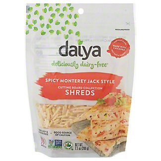 Daiya Pepperjack Style Shreds Vegan Cheese,8 oz