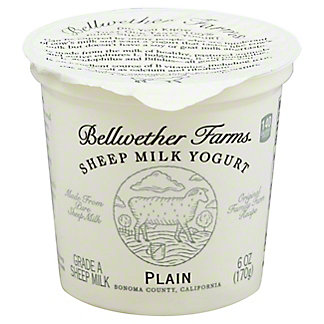 Bellwether Farms Plain Sheep Milk Yogurt,6.00 oz