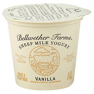 Bellwether Farms Vanilla Sheep Milk Yogurt,6.00 oz