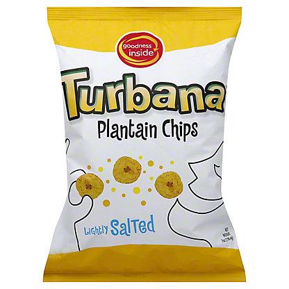 Turbana Plantain Chips Natural,7 OZ