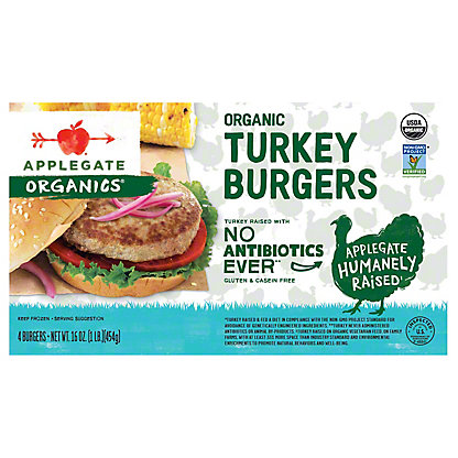 Applegate Organic Turkey Burgers,12 OZ